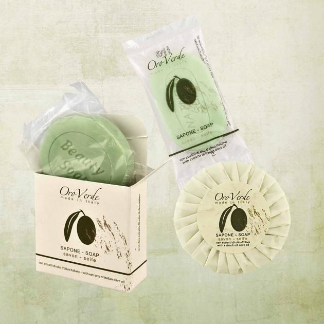saponi all'olio d'oliva linea oroverde detercom professional